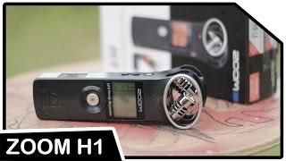 unboxing full review zoom h1 handy recorder black indonesia