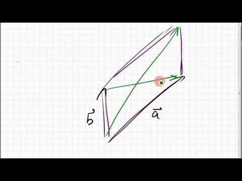 02B.9 Parallelogrammidentität; Diagonalen eines Parallelogramms ...