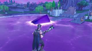 *NEW* CUBE DISSOLVES IN LOOT LAKE! FORTNITE BATTLE ROYALE
