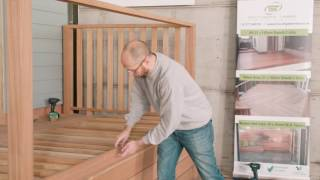 How to fit Yellow Balau Handrail & Components