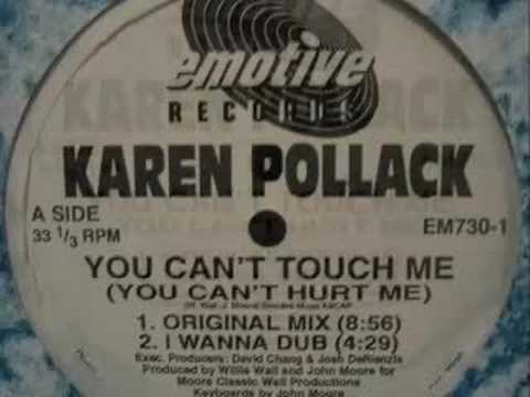 Karen Pollack - You Can't Touch Me (Original Mix)