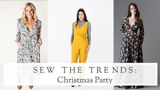 Sew The Trends || Christmas Party || The Fold Line