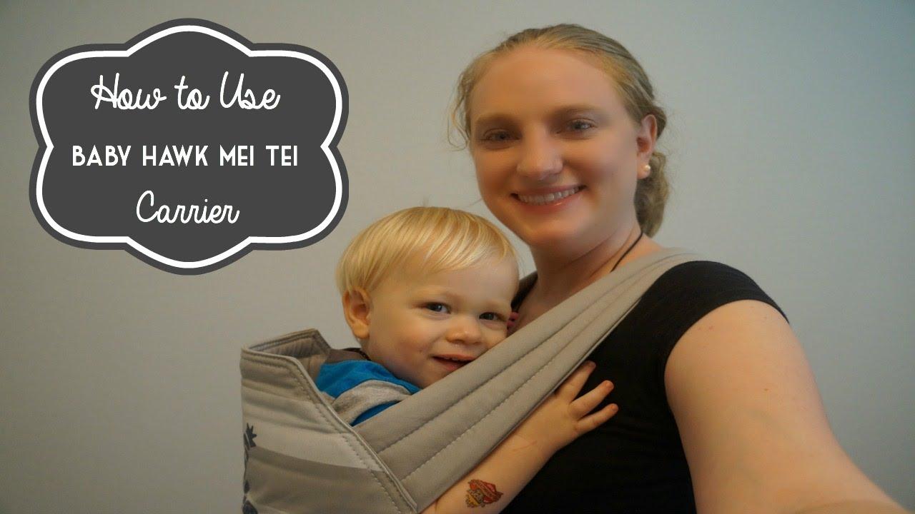 a06e35a017f How to Use a Baby Hawk Mei Tai - YouTube