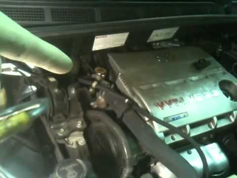 PCV Valve location on 3MZ engine - YouTube