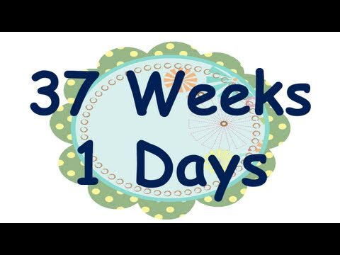 37 Weeks, 1 Day - Long Walk, Low Baby
