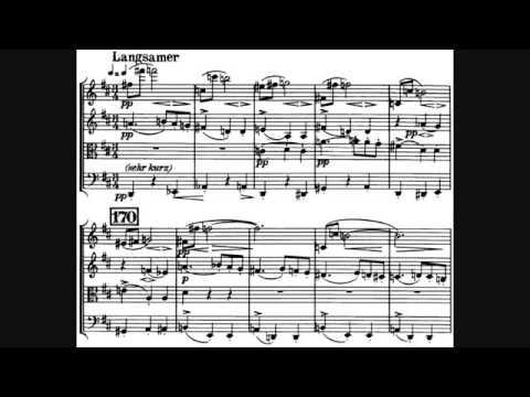 Arnold Schönberg String Quartet No. 2