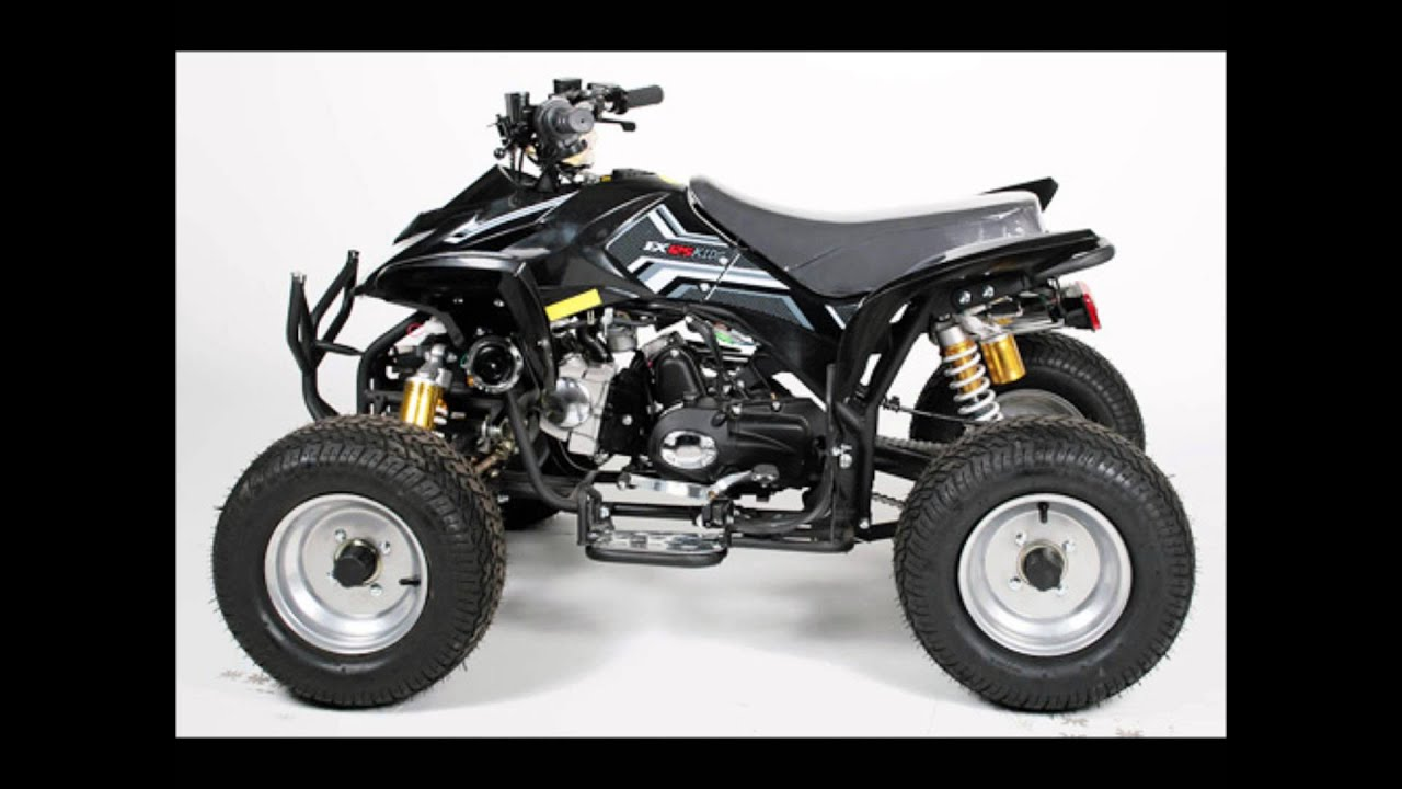 quad 125cc grizzly 8 nitro motor pour adolescent pas cher youtube. Black Bedroom Furniture Sets. Home Design Ideas