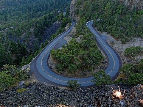 Columbia River Gorge Motorcycle Ride: Cascade Locks to The Dalles