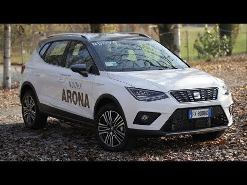 seat arona 1 0 ecotsi 115 cv xcellence test drive youtube. Black Bedroom Furniture Sets. Home Design Ideas