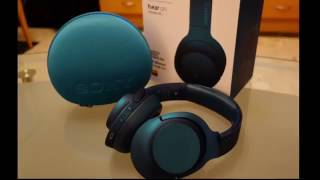 sony h ear on wireless nc mdr100abn headphone review