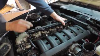 Comment changer la durite de Reniflard sur une E36 BMW  How to Change the Breather Hose on a BMW E36