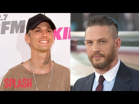 Aaron Carter Wants to Go on a Date with Tom Hardy | Splash News TV