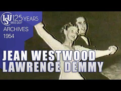 Jean Westwood & Lawrence Demmy (GBR) - World Championships Oslo 1954 - ISU Archives