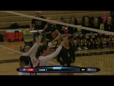 Cupertino Pioneers vs Mountain View Spartans - Volleyball September 14th, 2017