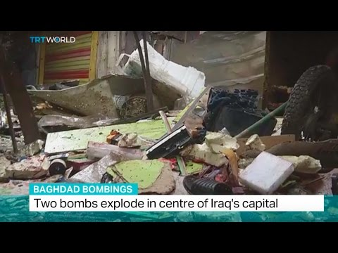 Baghdad Bombings: Two bombs explode in centre of Iraq's capital