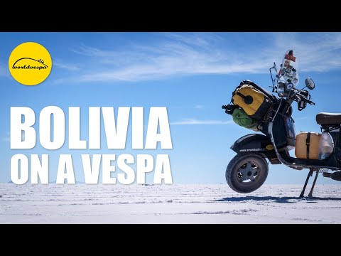 Vespa travel Bolivia