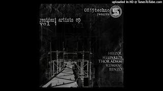 KUMANI, HLUNKE, BENZO, THOR ADAM, HEIZÖL - 0815 Techno Rec. Resident Artists EP Vol.1 - 05 BENZO -