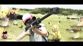Intense Pokemon GO REAL LIFE BATTLE! (Wild MEW appeared!)