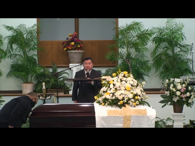 Funeral Services for Chang Ying Yang (Saturday)