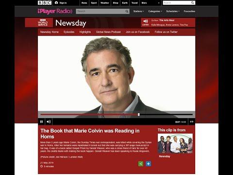 BBC Newsday Interview Gerald Weaver, Gospel Prism