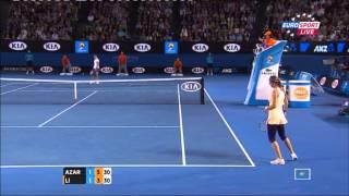 Женский финал Australian open 2013. Последний гейм