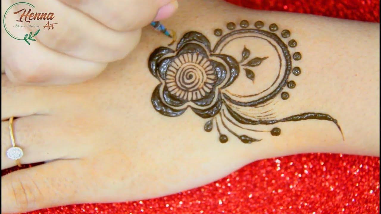 New Simple Back Hand Mehendi Design for Beginners | Mehandi Design | Easy Mehndi Designs | HENNA ART