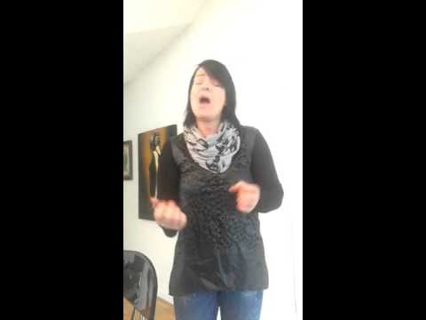 Anette Olzon sings For the heart I once had