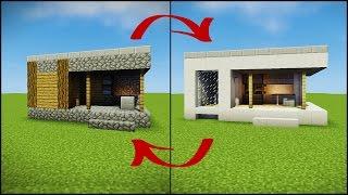 minecraft village blacksmith transforming