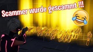 SCAMMER WURDE GESCAMMT!!! SEINE REAKTION... | Fortnite