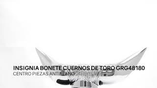 Insignia Bonete Cuernos De Toro GRG48180