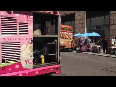 Lower Manhattan: Street Food