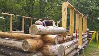 Build A Rustic Log Cabin From Scratch