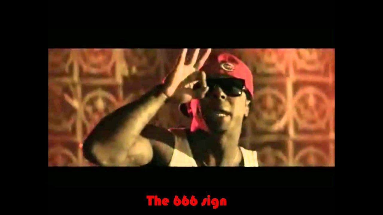 Red Nation The Game ft Lil Wayne Illuminati Symbols
