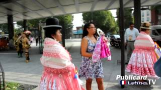 Fiesta de la Virgen de Urkupiña - Paris 2014