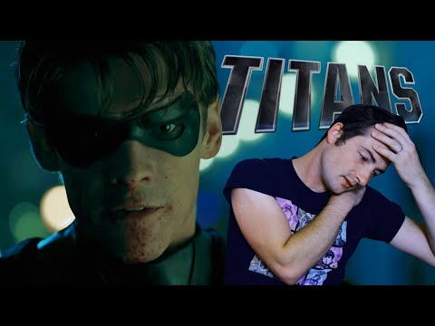 TITANS Trailer Reaction............ uhh