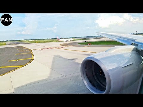 AMAZING ENGINES | American Airlines 777-200ER Takeoff from New York JFK Airport!