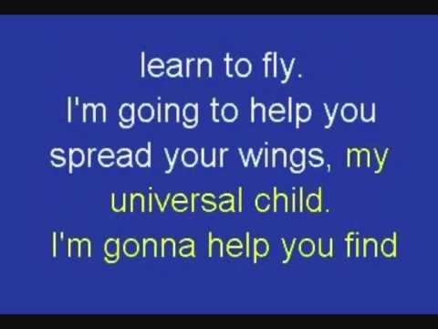 Annie Lennox Universal Child (karaoke)