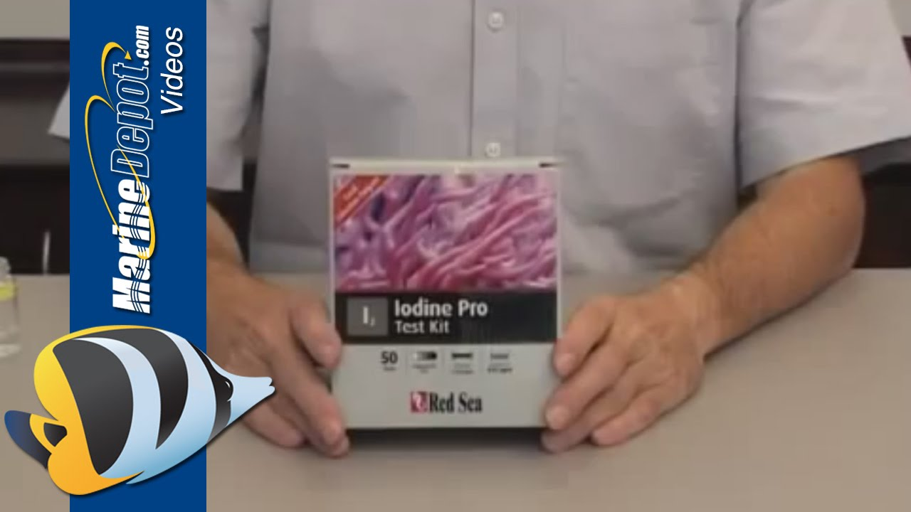 Red Sea's Iodine Pro Test Kit Thumbnail