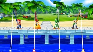 Mario Party Island Tour   Minigames Mario vs Daisy vs Yoshi vs Luigi