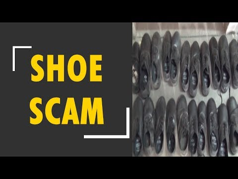 52,000 unpaired shoes delivered in a Aligarh school