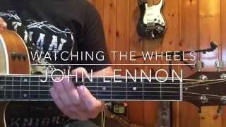 How To Play: John Lennon 'Watching The Wheels' Guitar Lesson
