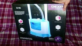 DEXP. Отпариватель. Отпариватель для одежды. DEXP SW 7805 . Steamer. A clothes steamer. DEXP SW 7805