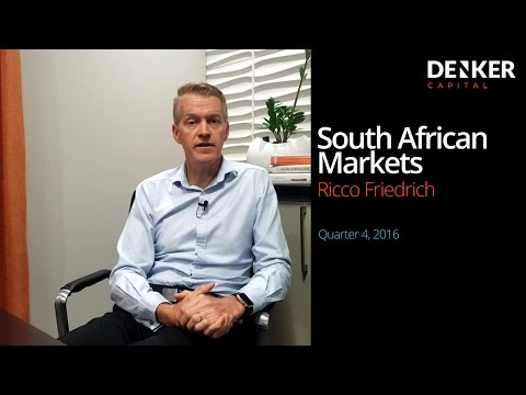 Denker Capital newsletter Q4 16: Overview of South African markets