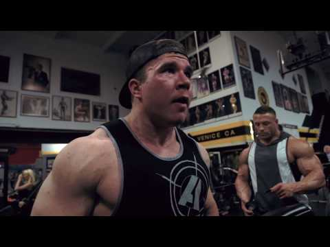 Brad Rowe 4 days out back workout with Matt Jansen