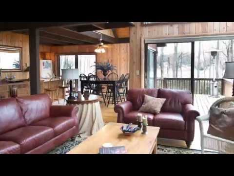 Lake Wallenpaupack Lakefront Home in Quiet Setting in Wayne County, PA