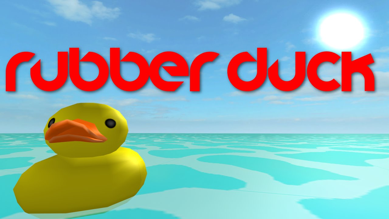 Rubber Duck A Roblox Machinima Youtube