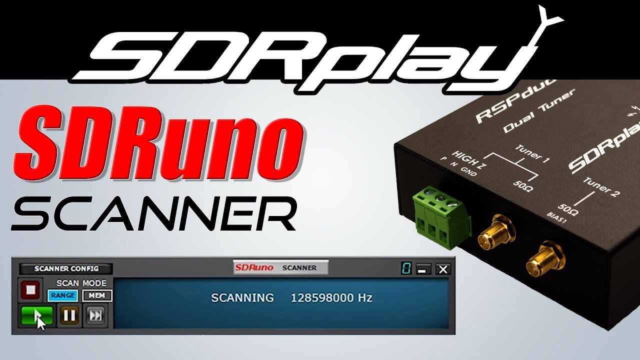 NEW: SDRPlay SDRuno Scanner Feature