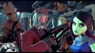 Disney Infinity 2.0 - Marvel Super Heroes - Guardians of the Galaxy Playset Walkthrough Part 1