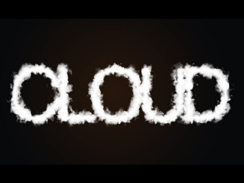Photoshop tutorial cloud text hd youtube - Hd clouds for photoshop ...