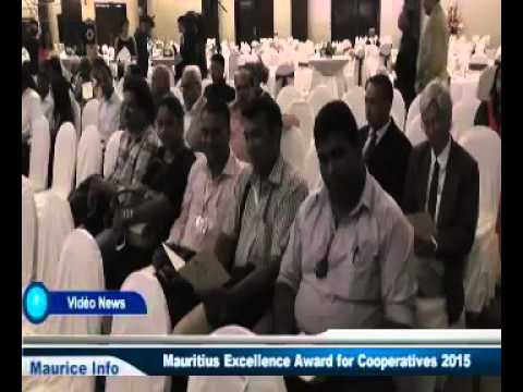 Mauritius Excellence Awards for Coopératives 2015